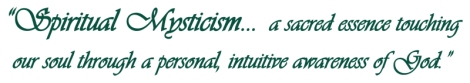 spiritual mysticism